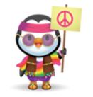 hippie Pingouin