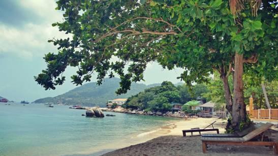 Une plage de Koh Tao