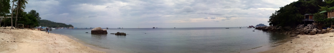 Panorama de l'île de Koh Tao