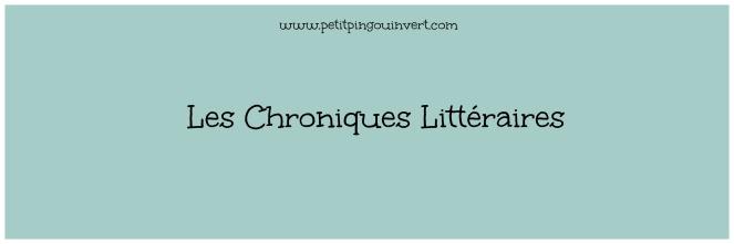 Les chroniques littéraires